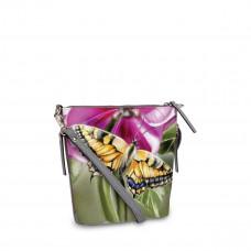 Сумка кросс-боди BAG8 «Бабочки большие»