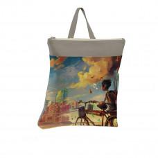 Рюкзак BKP3 «Мальчик и велосипед»
