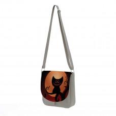 Сумка кросс-боди BG10 «Кот на ветке»