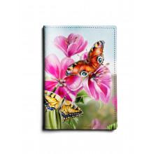 Обложка для паспорта, PAS1 «Бабочки большие»