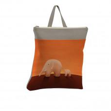 Рюкзак BKP3 «Слоны оранжевые»