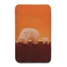 Картхолдер, CHL2 «Слоны оранжевые»