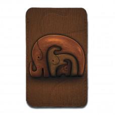 Картхолдер, CHL2 «Деревянные слоны»