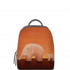 Рюкзак BK22 «Слоны оранжевые»